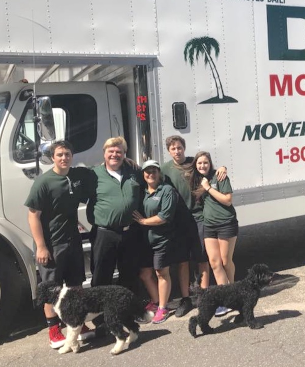 Daley Moving and Storage family is a business